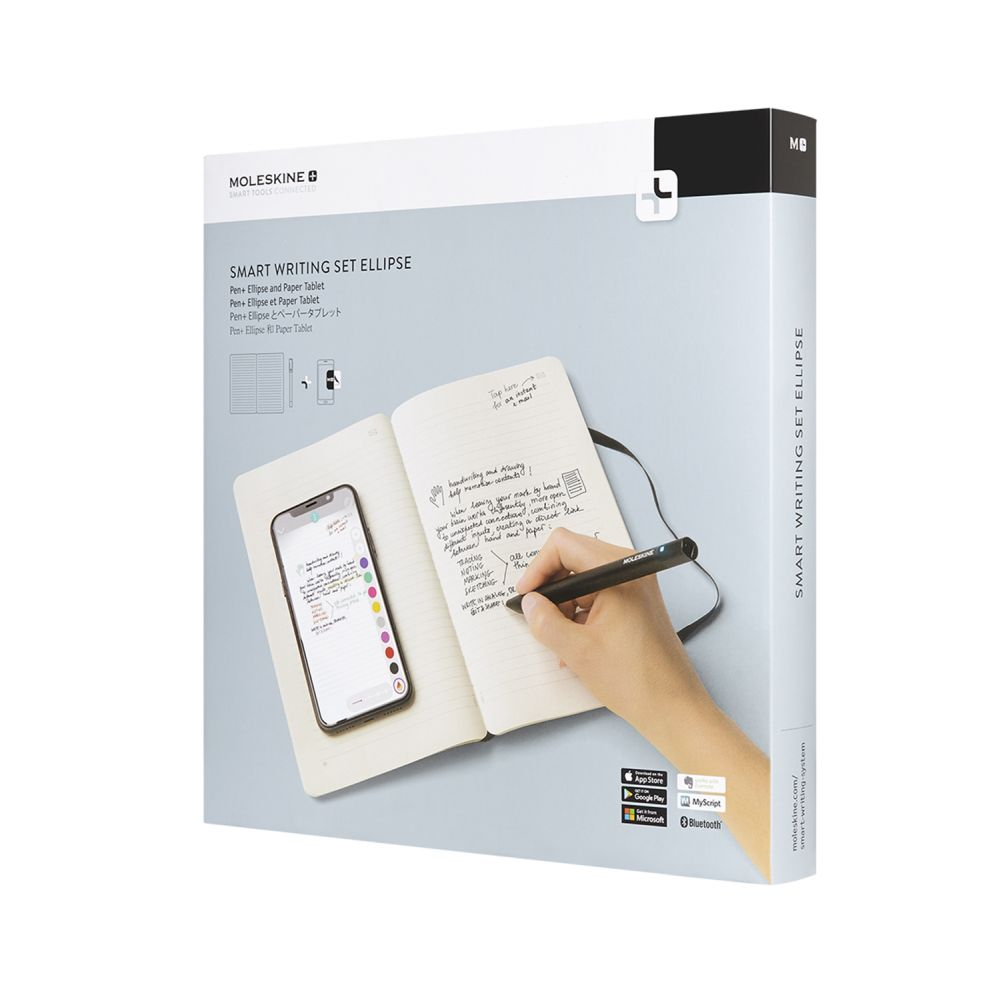 moleskine smart writting set box front